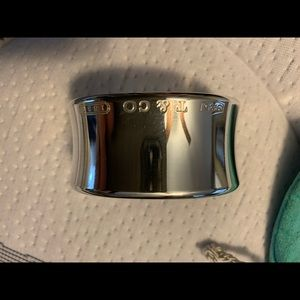 Tiffany & Co 1837 wide cuff bracelet
